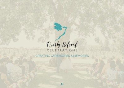 On the Bay Design & Consulting Website Design Dearly Beloved Celebrations